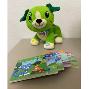 Leapfrog Scout Interactive Plush Toy w/ 5 Books